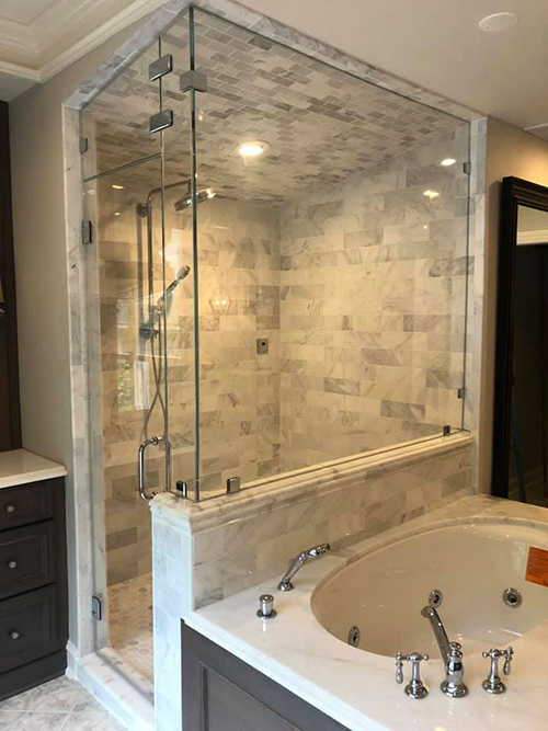 Dulles Glass Shower Installation